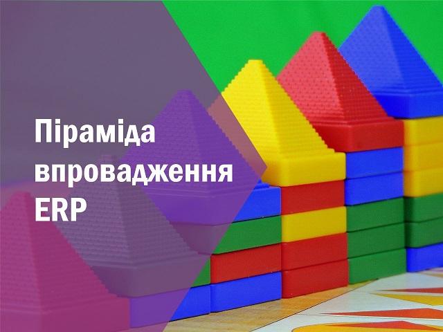 Піраміда впровадження ERP